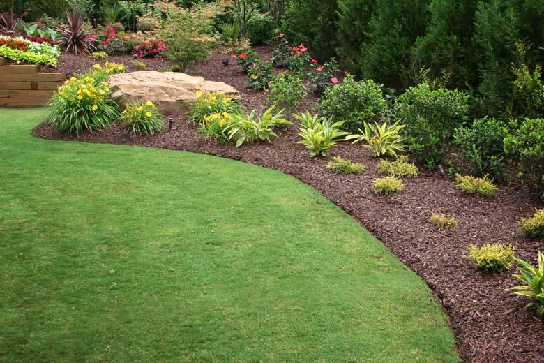 Lawn service for Garden design service